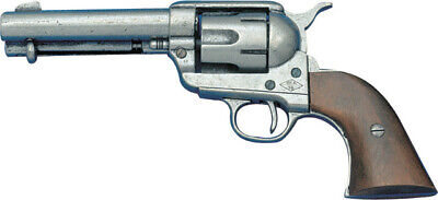 Denix Colt 45 Peacemaker Revolver Replica Old West Revolver with Wood Grips