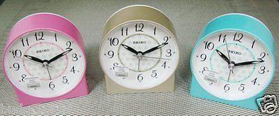 Seiko Bedside beep alarm clock Snooze Sweep Despertador +Free Ship QHE136 A/L/P
