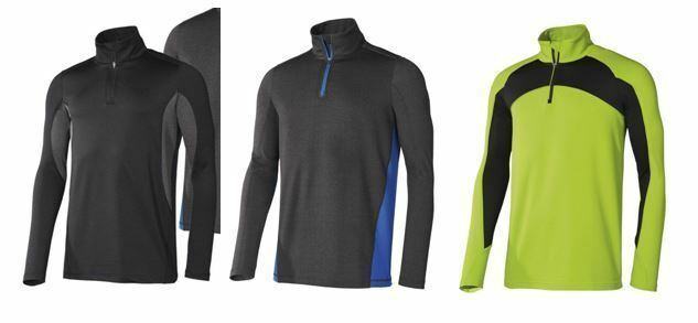 Herren Funktionsshirt Ski Skipullover Shirt Fitnessshirt Funktionswäsche