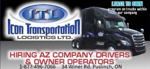 Truck Drivers/Owner operator