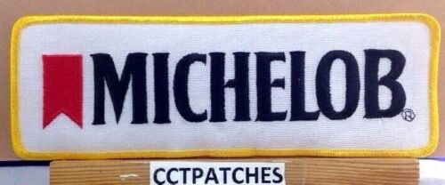 VINTAGE MICHELOB BEER LARGE PATCH