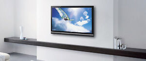 TV mounting and  security cameras installation free quote