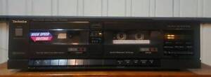 VINTAGE TECHNICS STEREO DOUBLE CASSETTE DECK/MADE IN JAPAN Dandenong North Greater Dandenong Preview