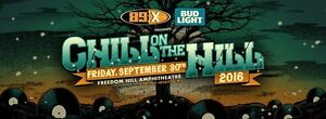 4 pack of tickets to SOLD OUT Chill On The Hill Concert