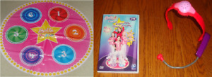 Bella Dancerella Popstar Dance Mat and DVD and Microphone