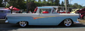 1957  RANCHERO  - Needs Finishing - 20,000 Invested -for 9,400.0