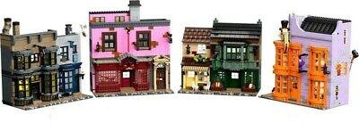 LEGO 75978, Harry Potter, Diagon Alley, 5544 pcs. NEW NO MINIFIGURES NO BOX