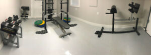 Complete Commercial Grade Free Weight Home Gym