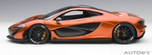 AUTOart 1/18 McLaren P1 Metallic Orange / Orange Caliper