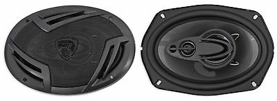 Pair Rockville Rv69 4A 6X9  4 Way Car Speakers 1000 Watts 220W Rms Cea Rated