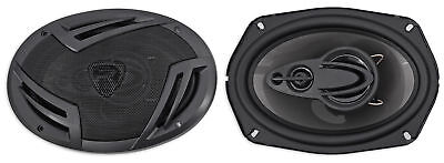 """Pair Rockville RV69.4A 6x9"""" 4-Way Car Speakers 1000 Watts/220w RMS CEA Rated"""