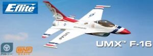 RC airplane E-Flite UMX F-16 jet