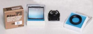 Nikon F3 focus screen B and accessories