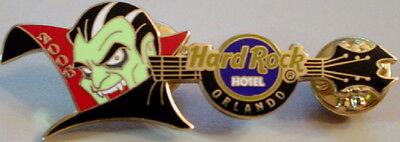 Hard Rock Hotel ORLANDO 2006 HALLOWEEN Horror Nights PINS Dracula Guitar - Hard Rock Halloween Horror Nights