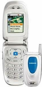 Samsung A660 Flip Phone, Bell/ Solo/ SakTel / MTS
