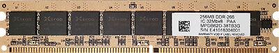 - SDRAM DIMM 184-PIN PC2100 DDR 266 256MB KINGMAX MPDB62D-38TB3G LOW PROFILE