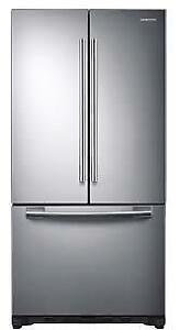 "Samsung 33"" French Door Refrigerator - RF18HFENBSR/AC"