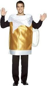 Oktoberfest theme Beer Mug Costume - one size fits all Kurrajong Hawkesbury Area Preview
