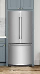 Brand New WHIRLPOOL 20 cu.ft. Stainless Steel French Door Fridge