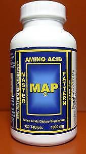 MAP - Master Amino Acid Pattern 1000mg - 120 tablets