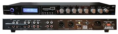 MUSYSIC Professional Audio Sound Processor Preamp Pre-Amplifier USB/SD/Bluetooth