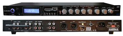 Audio Preamplifier - MUSYSIC Professional Audio Sound Processor Preamp Pre-Amplifier USB/SD/Bluetooth