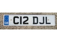 Personalised registration number For Sale - 'C12 DJL' - NO FEES - On retention (cherished reg)
