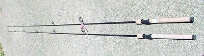 TWO Yad SFS701LP 7'1PC light popping IM7 graphite rods Im7 Graphite Rods