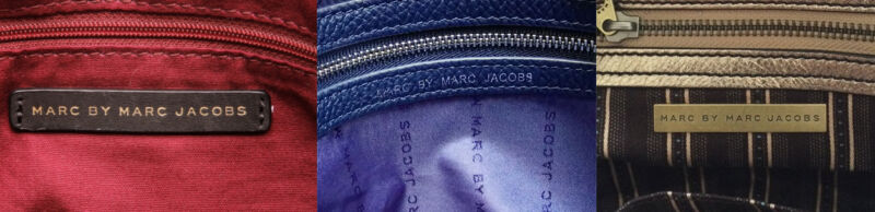 Examples Of Marc By Marc Jacobs creed stamps.