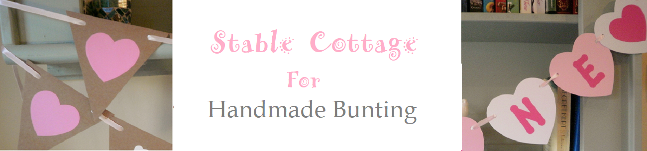 Stable Cottage Bunting