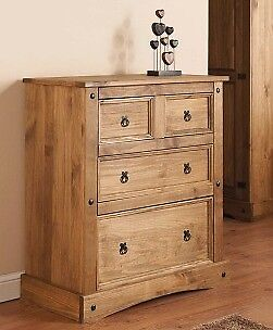 Mexican Pine Drawers Chest