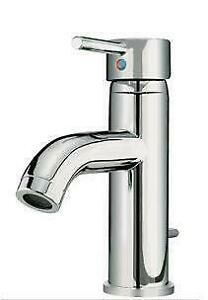 Kawartha Home Hardware 1 and 3 Hole Single Lever Chrome Lavatory Faucet