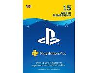 PlayStation Plus 15 Month Membership Download Code