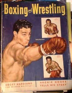 BOXING MAGAZINE. RING MAGS ETC.1950'S TO 80'S Belleville Belleville Area image 2
