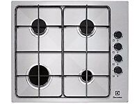 Electrolux, EGG6042NOX, 60cm Gas Hob In Stainless Steel - BRAND NEW