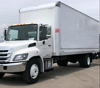 5 TON TRUCK AVAILABLE FOR PICKUP, DELIVERY AND MOVING SERVICES.