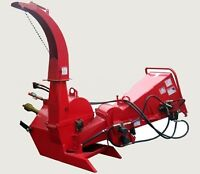Wood Chipper with hydraulic feed for 30-100 HP Tractor