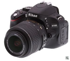 Nikon D5100 16.2MP DSLR + AF-S DX 18-55mm f/3.5-5.6 VR II Lens