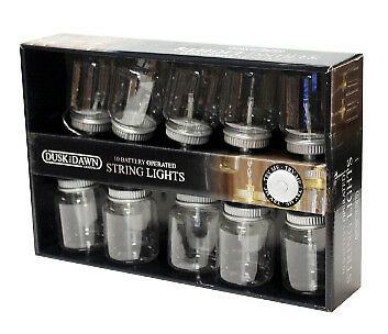 10 Jam Jar Battery Powered String Light