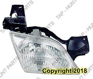 Head Lamp Passenger Side High Quality Oldsmobile Silhouette 1997-2005