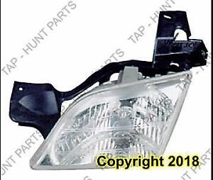 Head Lamp Driver Side Oldsmobile Silhouette 1998-2004