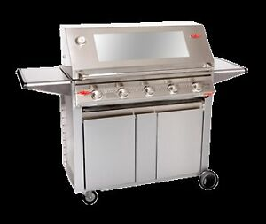 BBQ Beefeater Signature 3000S 5 Burner  S/S Hood, Cabinet Trolley Taylors Beach Port Stephens Area Preview