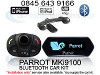 Parrot MKi9100 MKi9200 Bluetooth Handsfree Fitted Liverpool Wirral Merseyside Warrington St.Helens..
