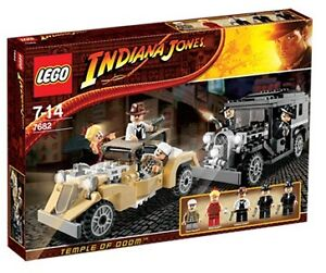 LEGO 7682 Indiana Jones Shanghai Chase New/Sealed Free US Shipping Set RET