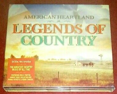 LEGEND'S OF COUNTRY CD ALBUM