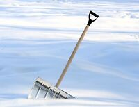 Too much snow to shovel? Call Varcoe's Snow Removal