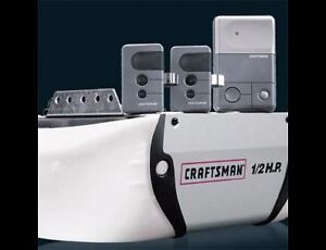 Craftsman 1/2HP Chain Garage Door Opener Installation Included
