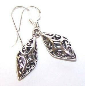 Vintage Silver Dangle Earrings