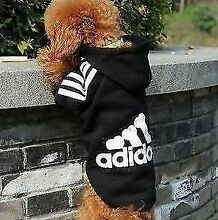 Adidog small DOGS PET CLOTHING BLACK RED M L XL XXL Hurstville Hurstville Area Preview