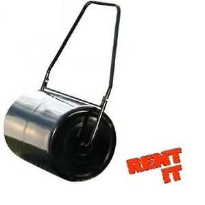 RENT ME -- MANUAL LAWN ROLLER $15 A DAY